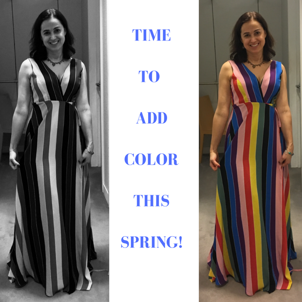 It's Spring!  Bring On The Color!